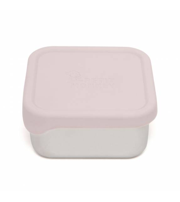 Stainless Steel Lunchbox Dawn Rose Petit Monkey
