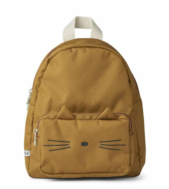 Allan Backpack Cat Golden Caramel Liewood