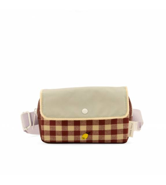 Fanny Pack Gingham Special Edition Sticky Lemon