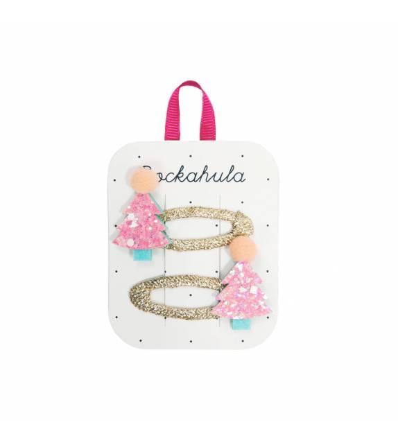 Candy Sprinkles Xmas Tree Clips Rockahula