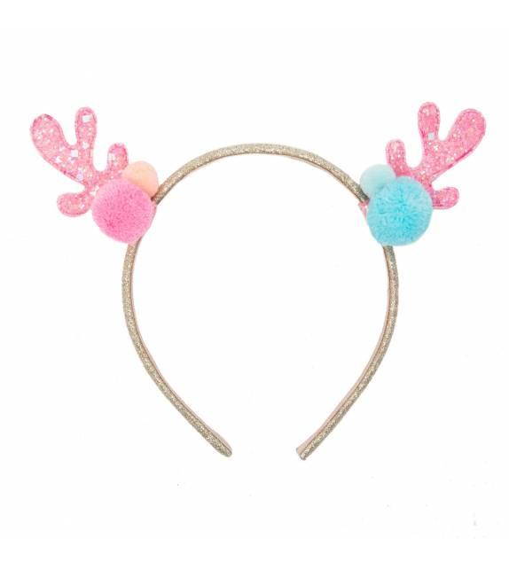 Candy Sprinkles Reindeer Head Band Rockahula