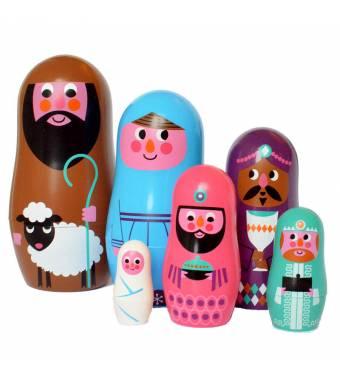 Matryoshka Nesting Dolls Christmas Ingela Arrhenius OMM DESIGN