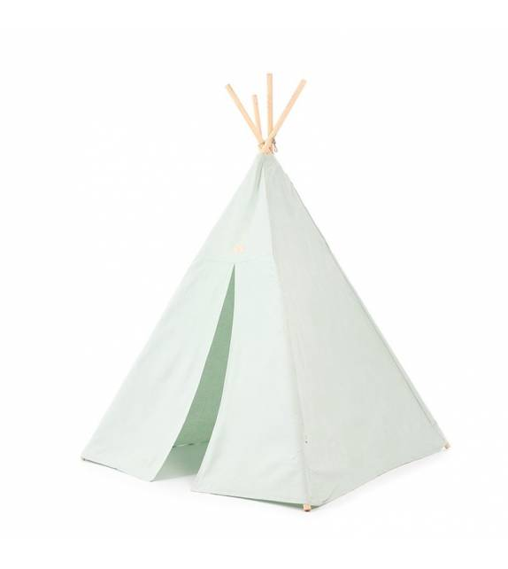 Tipi White Bubble Aqua NOBODINOZ