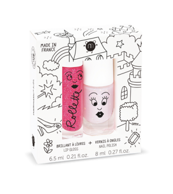 Duo Esmalte Brillo de Labios Fairytales Nailmatic