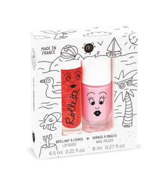 Duo Esmalte Brillo de Labios Holidays Nailmatic