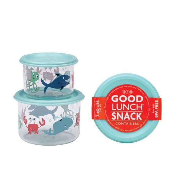 Set 2 Cajas de almuerzo pequeñas Océano Sugarbooger