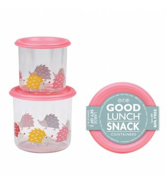 Hedgehog Good Lunch Snack Containers Large Sugarbooger
