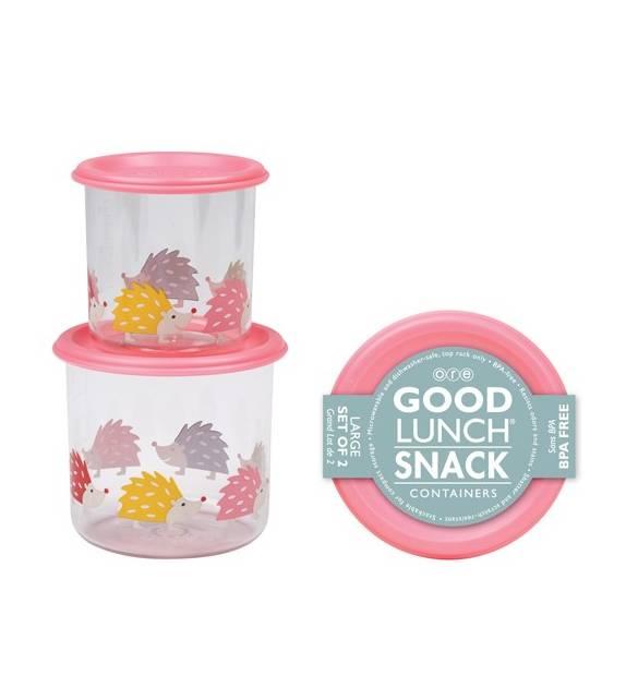 Set 2 Cajas de almuerzo grandes Erizos Sugarbooger