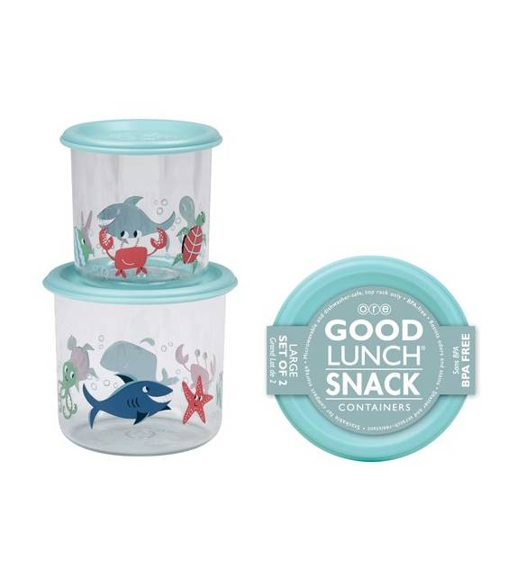 Ocean Good Lunch Snack Containers Large Sugarbooger