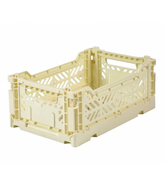 Folding Crate Minibox Banana Lillemor