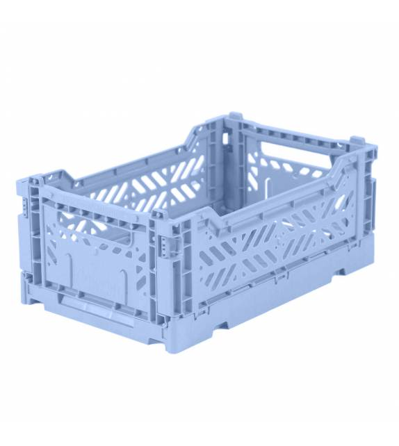 Folding Crate Minibox Baby Blue Lillemor