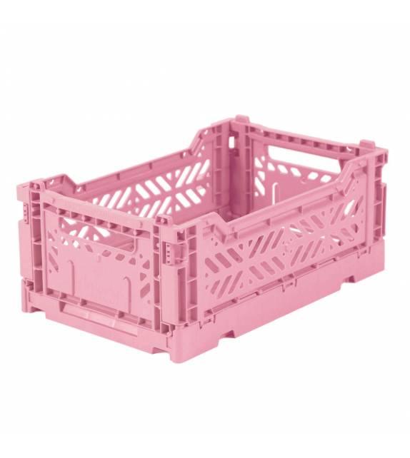 Folding Crate Minibox Baby Pink Lillemor