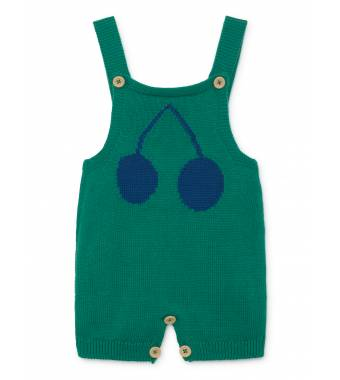 Cherry Knitted Overall BOBO CHOSES