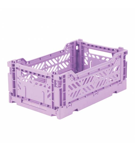 Folding Crate Minibox Orchid Lillemor