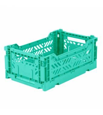 Folding Crate Minibox Mint Lillemor