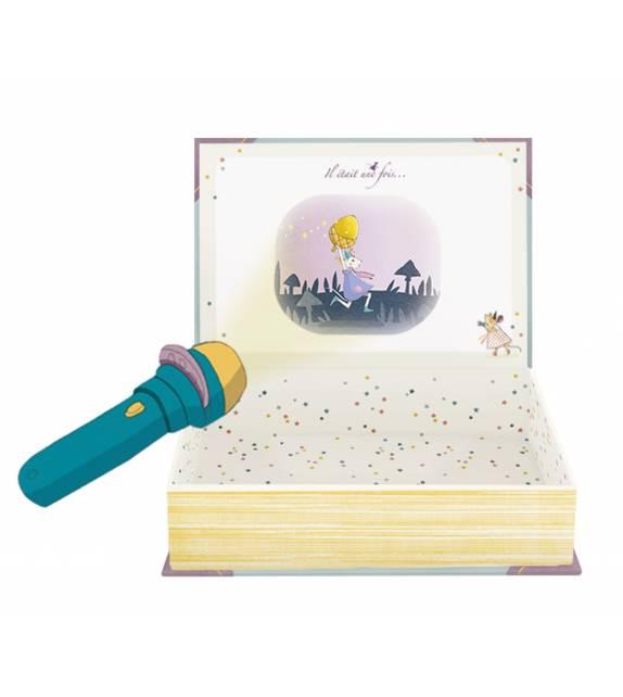 Libro Linterna Proyector de Cuentos Moulin Roty