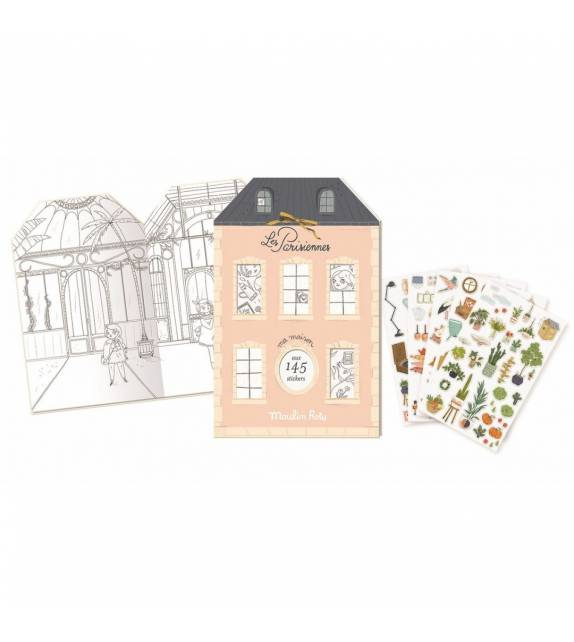 Les Parisiennes Sticker Book Moulin Roty
